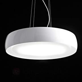 LED-Pendelleuchte Treviso in Weiß