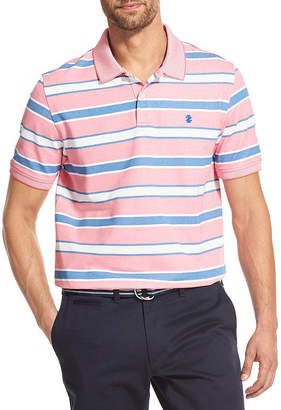 Izod Advantage Polo Easy Care Short Sleeve Knit Polo Shirt