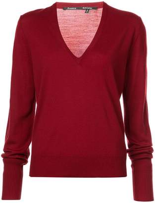 Proenza Schouler deep v-neck sweater