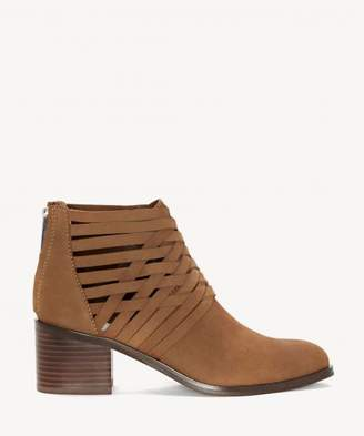 Sole Society Iliza Woven Block Heel Bootie