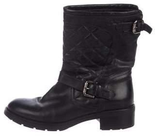 Aquatalia Quilted Mid-Calf Boots