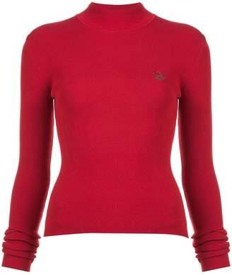 Rosie Assoulin mock neck knit sweater