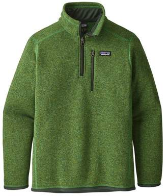 Patagonia Boys' Better Sweater® 1/4-Zip Fleece