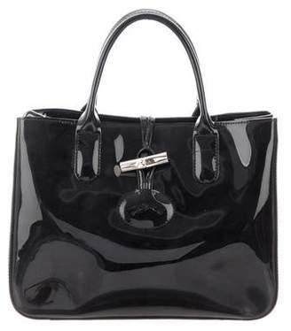 Longchamp PVC Roseau Satchel