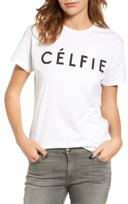 Women's Sincerely Jules 'Celfie' Graphic Tee $49 thestylecure.com