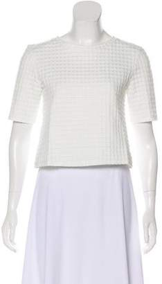 Theory Textured Cropped Top