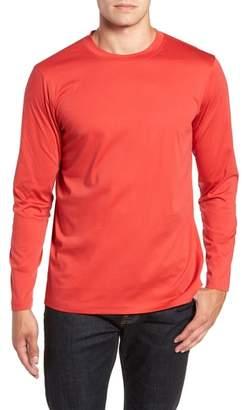 Bugatchi Solid Long Sleeve T-Shirt