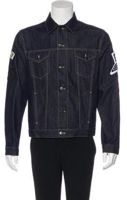 Stella McCartney 2017 Embroidered Appliqué Trucker Jacket