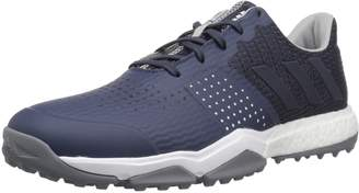 adidas Men's Adipower s Boost 3 Golf Shoe, Trace Blue Trace Blue/Silver Met, 7.5 Medium US