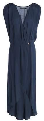 Vix Paula Hermanny Wrap-effect Voile Dress