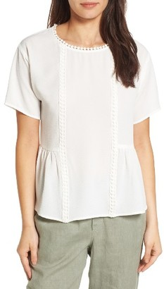 Women's Bobeau Stretch Crepe Top $49 thestylecure.com