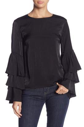 Do & Be Do + Be Tiered Sleeve Blouse