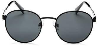 Polaroid Men's Polarized Round Sunglasses, 50mm