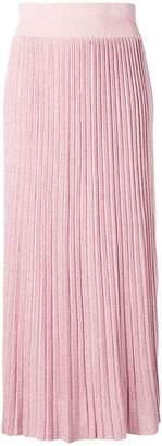 Altea pleated long skirt