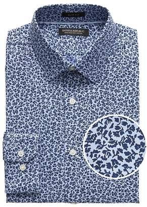 Banana Republic Grant Slim-Fit Non-Iron Floral Dress Shirt