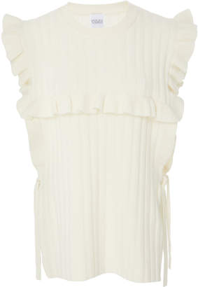 Madeleine Thompson Novara Short Sleeve Cashmere Sweater