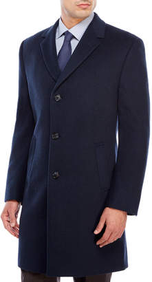 Kenneth Cole Reaction Raburn Wool Overcoat