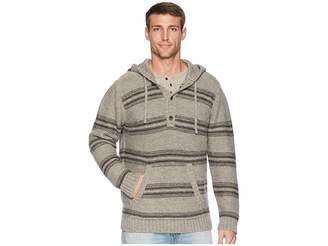 Pendleton Alpaca Knit Hoodie Sweater