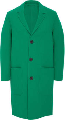Ami Wool-Felt Coat