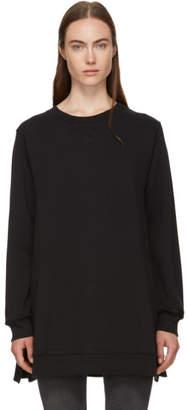 MM6 MAISON MARGIELA Black Basic Wide Bottom Sweatshirt