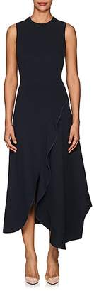 Victoria Beckham Women's Ruffled Midi-Dress