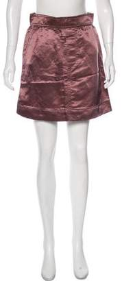 Marc Jacobs Satin Mini Skirt w/ Tags