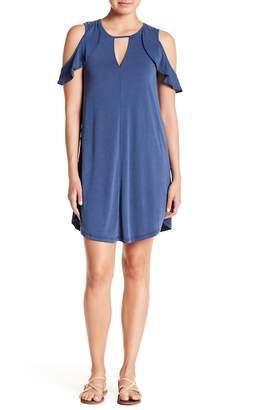 Jessica Simpson Pearlie Cold Shoulder Dress