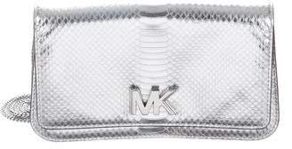Michael Kors Embossed Leather Clutch