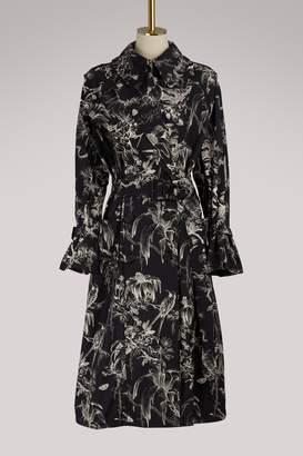 Alexander McQueen Bird trench coat