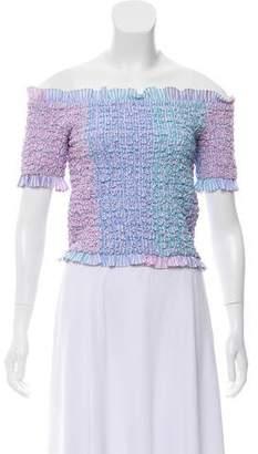 Petersyn Short Sleeve Crop Top w/ Tags