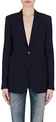 Saint Laurent Women's Wool Gabardine Two-Button Jacket