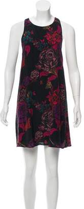 Alice + Olivia Printed Sleeveless Dress