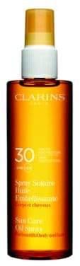 Clarins Sunscreen Care Body& Hair Oil Spray SPF 30/5 oz.