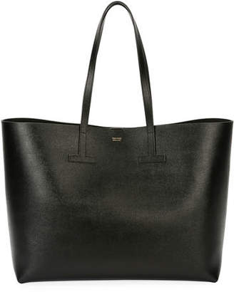 Tom Ford Saffiano Medium Leather T Tote Bag