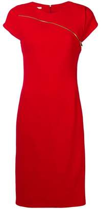 Antonio Berardi zip detail midi dress