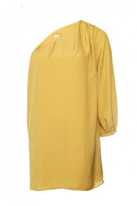 Elizabeth and James Yellow Polyester Dresses