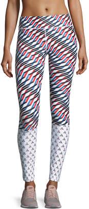 The Upside Mystic Keys Printed Yoga Pants