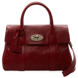 Bayswater Small Grained Leather Satchel $999 thestylecure.com