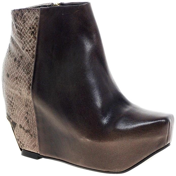 Miista Marie Wedge Heel Boot