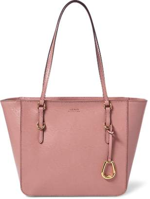 Ralph Lauren Saffiano Leather Shopper Tote