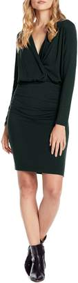 Michael Stars Jules Cross Front Stretch Jersey Dress