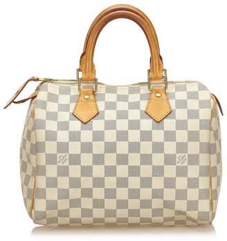 Louis Vuitton Vintage Damier Azur Speedy 25