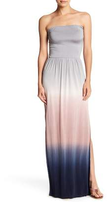 Young Fabulous & Broke YFB by Vance Ombre Strapless Maxi Dress