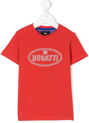 Bugatti Kids logo print T-shirt