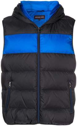 MICHAEL Michael Kors hooded padded gilet