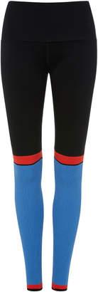 4254 Sport High Waisted Ribbed Legging