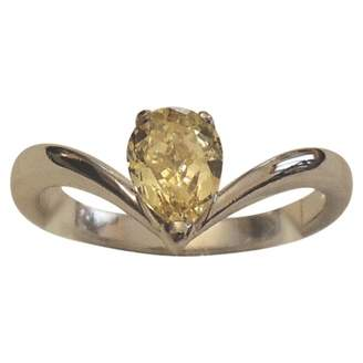 Damiani Yellow Platinum Ring
