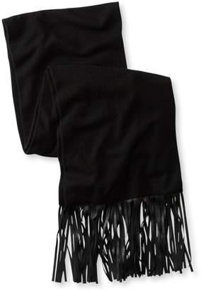 L.L. Bean L.L.Bean Signature Wool/Cashmere Fringe Scarf