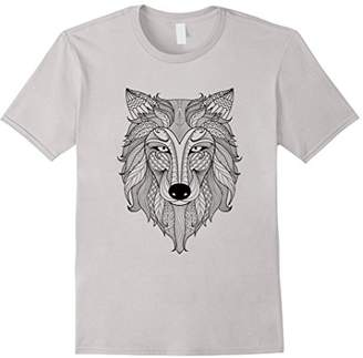 Your Own Wolf - Color Colorific Tees Design