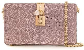 Dolce & Gabbana crystal embellished clutch bag